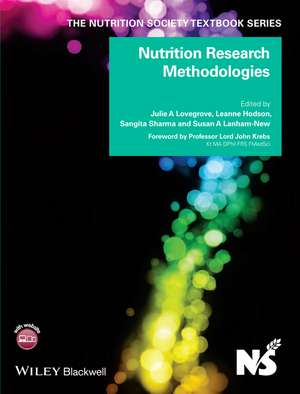 Nutrition Research Methodologies