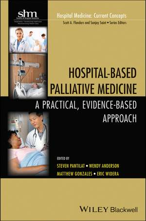 Hospital–Based Palliative Medicine