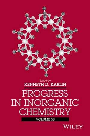 Progress in Inorganic Chemistry de Kenneth D. Karlin
