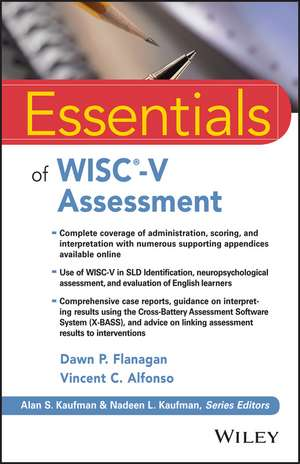 Essentials of WISC–V Assessment