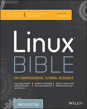 Linux Bible de Christopher Negus
