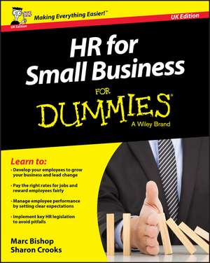 HR for Small Business For Dummies – UK de Marc Bishop