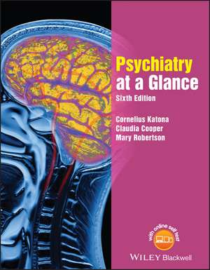 Psychiatry at a Glance de Cornelius L. E. Katona