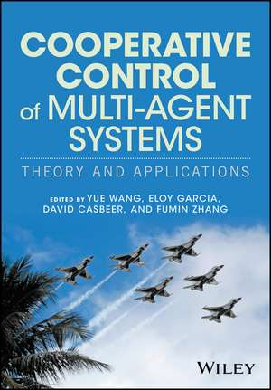 Cooperative Control of Multi–Agent Systems – Theory and Applications