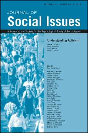 Understanding Activism
