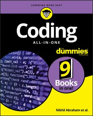 Coding All–in–One For Dummies