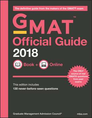 The Official Guide for GMAT Review 2018 with Online Question Bank and Exclusive Video