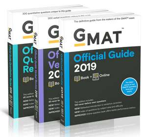 GMAT Official Guide 2019 Bundle: Books + Online de GMAC (Graduate Management Admission Council)