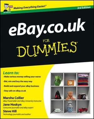eBay.co.uk For Dummies de Marsha Collier