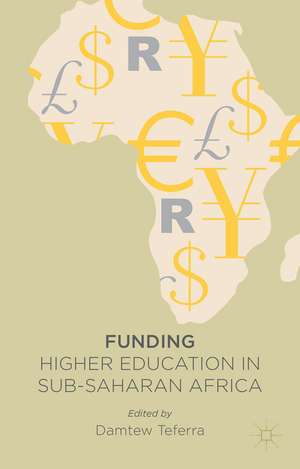 Funding Higher Education in Sub-Saharan Africa imagine