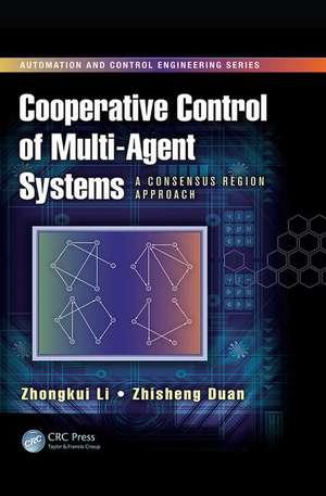 Cooperative Control of Multi-Agent Systems de Zhongkui Li