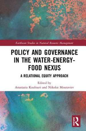 POLICY AND GOVERNANCE IN THE WATER-
