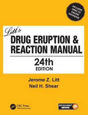 Litt's Drug Eruption & Reaction Manual 24E
