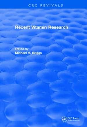 Recent Vitamin Research (1984)