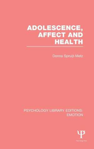 Adolescence, Affect and Health (Ple