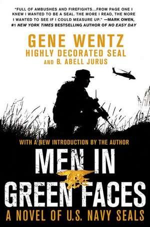 Men in Green Faces de Gene Wentz
