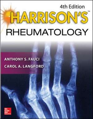 Harrison's Rheumatology, Fourth Edition