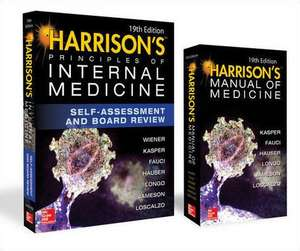 Harrison's Principles of Internal Medicine Self-Assessment and Board Review, 19th Edition and Harrison's Manual of Medicine 19th Edition VAL PAK