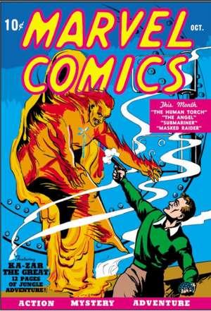 Golden Age Marvel Comics Omnibus Vol. 1 de Marvel Comics