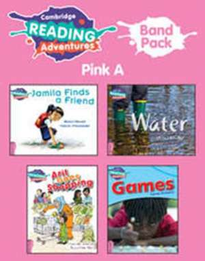 Cambridge Reading Adventures Pink A Band Pack of 9 de Alison Hawes