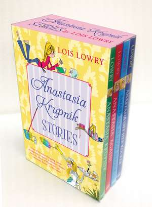 Anastasia Krupnik Stories (boxed set) de Lois Lowry