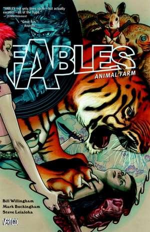 Fables Vol. 2:  Animal Farm de Bill Willingham