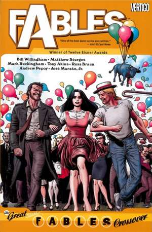 Fables Vol. 13:  The Great Fables Crossover de Bill Willingham