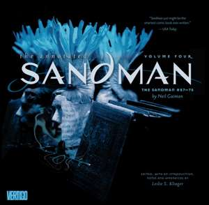 Annotated Sandman, Volume 4