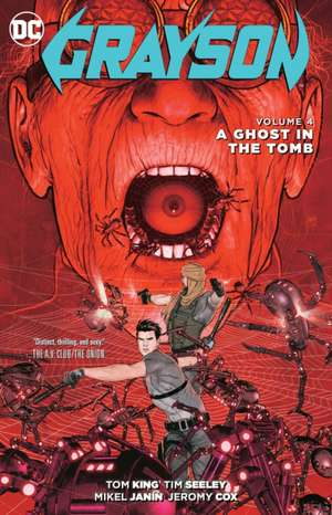 Grayson Vol. 4:  A Ghost in the Tomb de Tom King