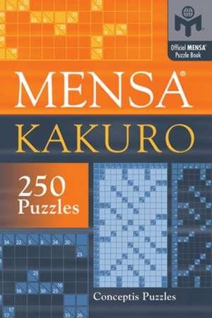Mensa Kakuro de Conceptis Puzzles