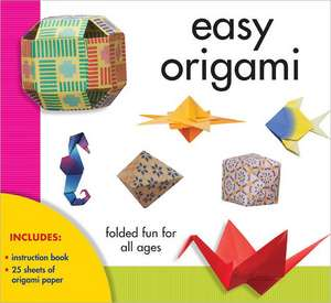 Easy Origami:  Folded Fun for All Ages [With Paper] de Debora Argueta