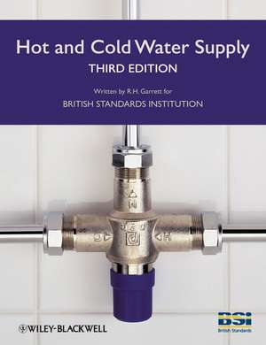Hot and Cold Water Supply de BSI (The British Standards Institution)