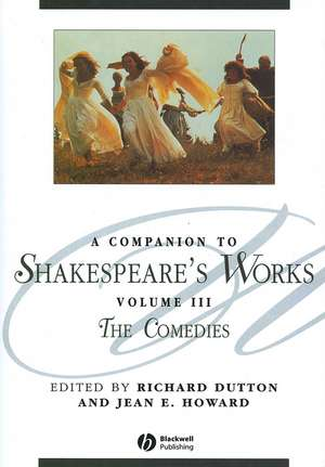 A Companion to Shakespeare′s Works, Volume III