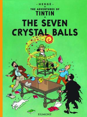 The Seven Crystal Balls de  Herge