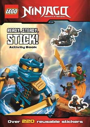 LEGO (R) Ninjago: Ready, Steady, Stick! (Sticker Activity Book)