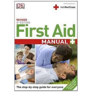 First Aid Manual 9th Edition Irish Edition de DK
