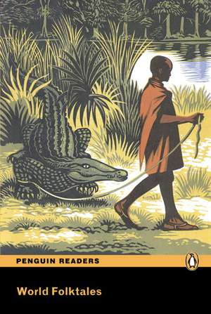 World Folktales, Level 5, Pearson English Readers:  English Practice File [With CDROM] de Kathy Burke