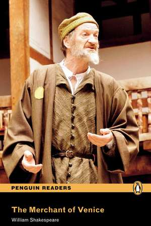 Merchant of Venice, The, Level 4, Penguin Readers:  Curse of the Black Pearl, Level 2, Penguin Readers de William Shakespeare