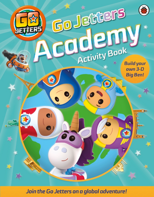 Go Jetters Academy Activity Book