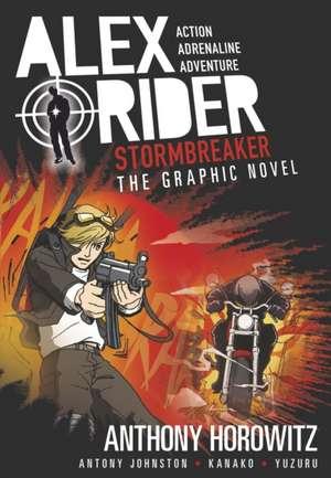 Stormbreaker Graphic Novel de Anthony Horowitz