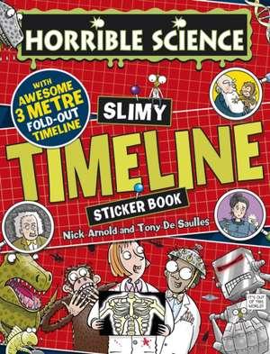 Slimy Timeline Sticker Book