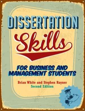 Dissertation Skills de Steve Rayner