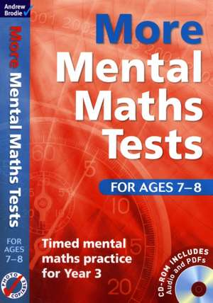 More Mental Maths Tests for Ages 7-8