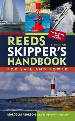 Reeds Skipper's Handbook de Malcolm Pearson