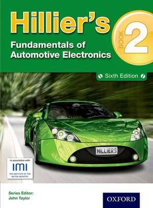 Hillier's Fundamentals of Automotive Electronics Book 2 de V.A.W Hillier