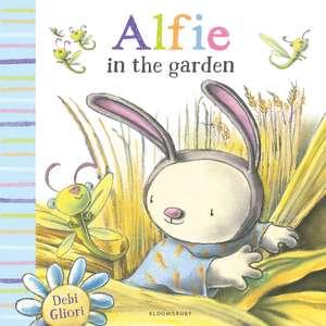 Alfie in the Garden