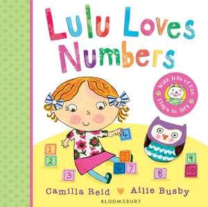 Lulu Loves Numbers de Camilla Reid
