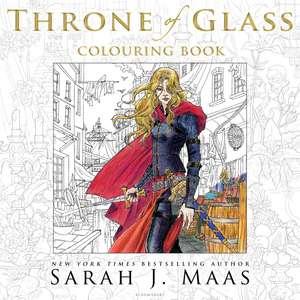 The Throne of Glass Colouring Book de Sarah J. Maas