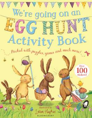 We're Going on an Egg Hunt Activity Book de Laura Hughes