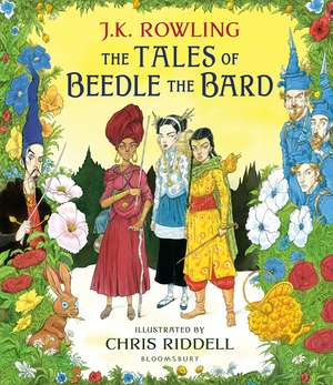 The Tales of Beedle the Bard - Illustrated Edition: A magical companion to the Harry Potter stories de J. K. Rowling